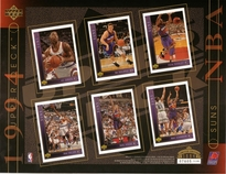 1994 Upper Deck NBA Suns Sheet
