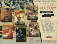 1996 upper deck 76ers draft sheet