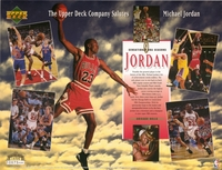 1994 Upper Deck Michael Jordan Sheet
