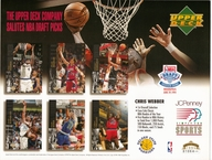 1994 Upper Deck Warriors Draft Sheet