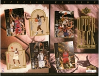 1994 Upper Deck Special Edidtion Baksetball Sheet