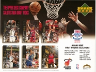 1994 Upper Deck Heat Draft Sheet