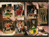Upper Deck Basketball Sheet