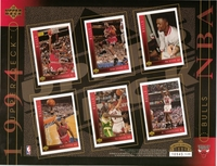 1994 Upper Deck NBA Bulls Sheet