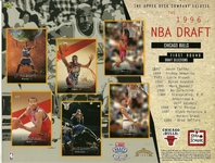 1996 Upper Deck Bulls Draft Sheet