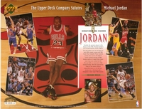 1994 Upper Deck Jordan Tribute Sheet