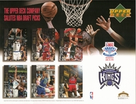 1994 Upper Deck Kings Draft Sheet