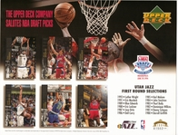 1994 Upper Deck Jazz Draft Sheet