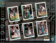 1994 Upper Deck NBA Hornets Sheet