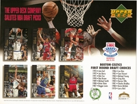 1994 Upper Deck Celtics Draft Sheet