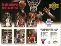 1994 Upper Deck Bulls Draft Sheet