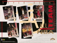 1994 Upper Deck All NBA Team Sheet