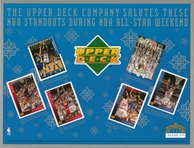 1994 Upper Deck All Star Weekend Sheet