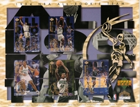 1994 Upper Deck NBA All Rookie Sheet