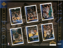 1994 Upper Deck NBA Magic Sheet