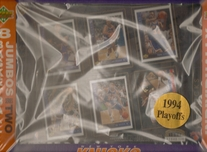 1994 Upper Deck NBA Knicks Sheet