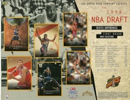 1996 Upper Deck Spurs Draft Sheet
