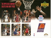 1994 Upper Deck Suns Draft Sheet