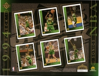 1994 Upper Deck NBA Sonics Sheet