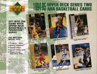 1994 Upper Deck Basketball Sheet