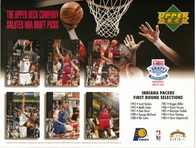 1994 Upper Deck Pacers Draft Sheet