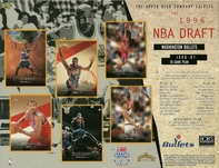 1996 Upper Deck Bullets Draft Sheet